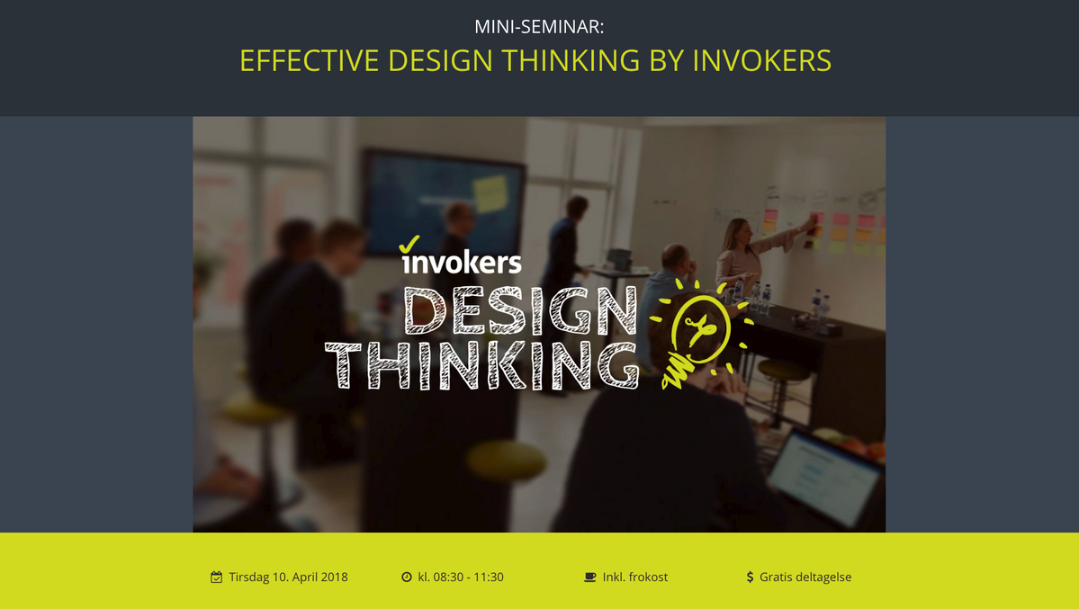 invokers seminar design thinking