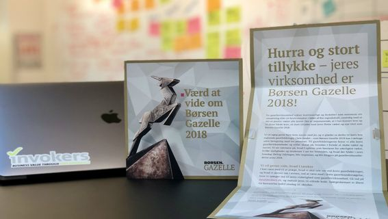 invokers Børsen Gazelle 2018