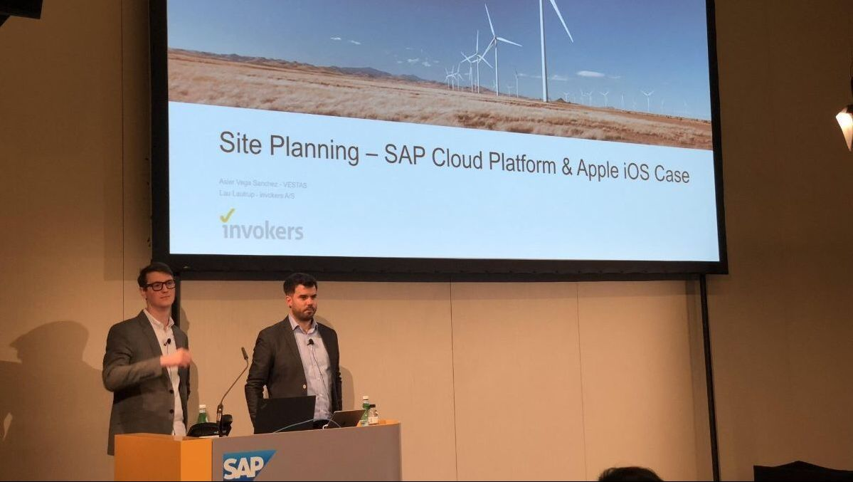 invokers presenting at SAP TechEd Barcelona